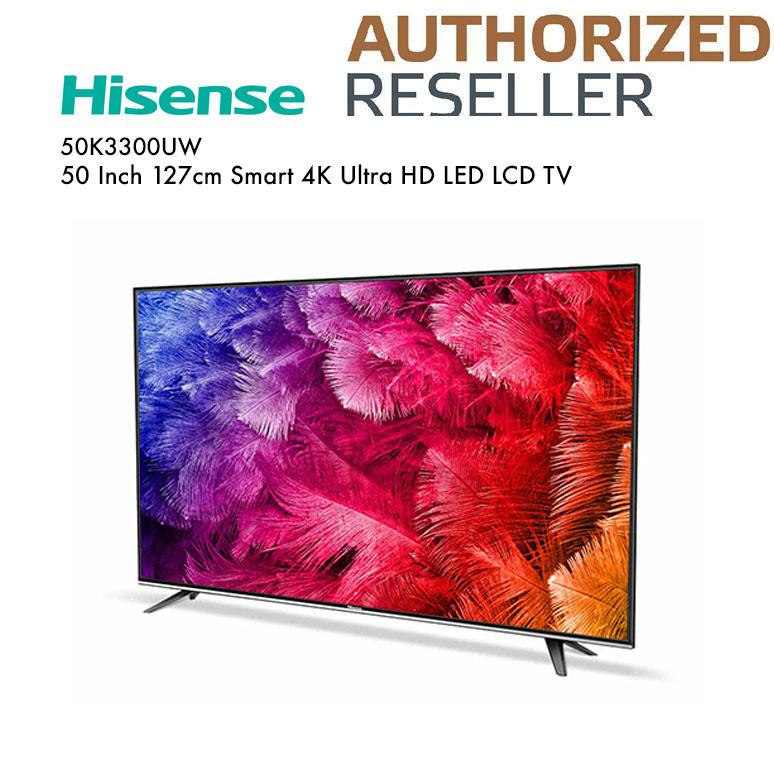 "Hisense 50"" Smart 4K UHD LED TV 50K3300UW"