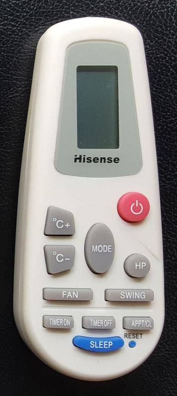 Hisense Air Conditioner Remote Control RCH-4528NA
