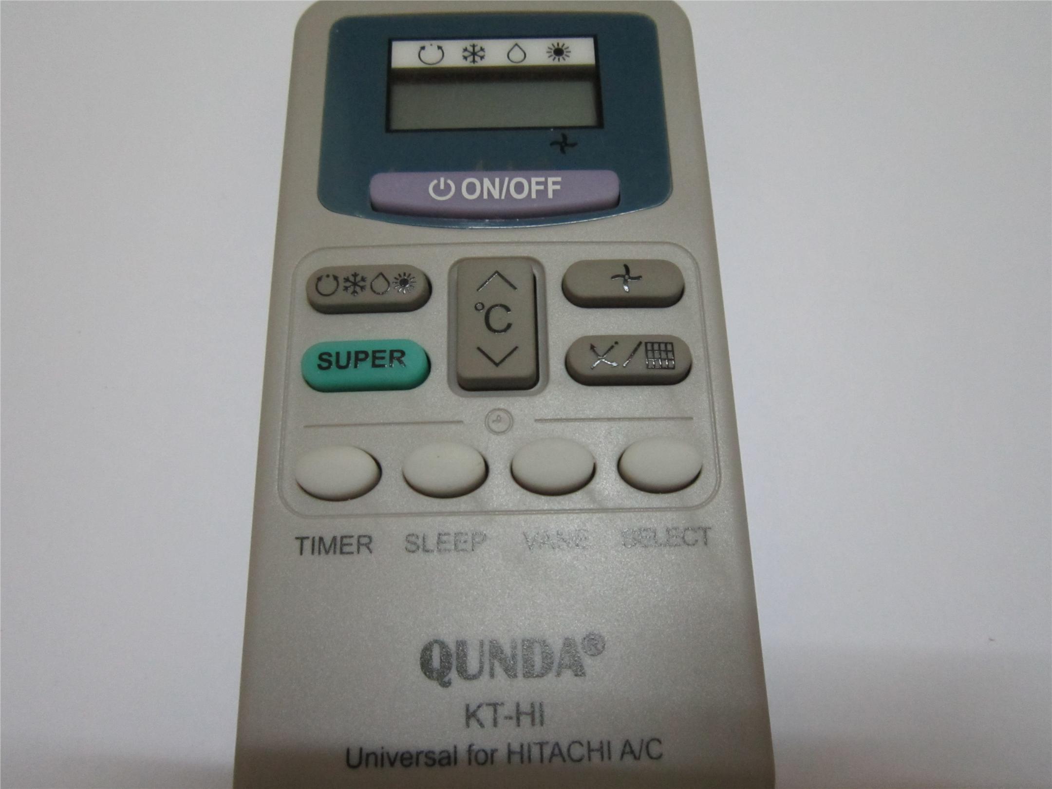 hitachi remote. hitachi air cond remote control(compatible) hitachi remote