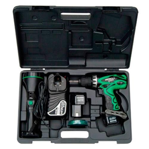 hitachi drill battery. [new] hitachi ds9dvf3 9.6v cordless drill (6 month warranty) battery l