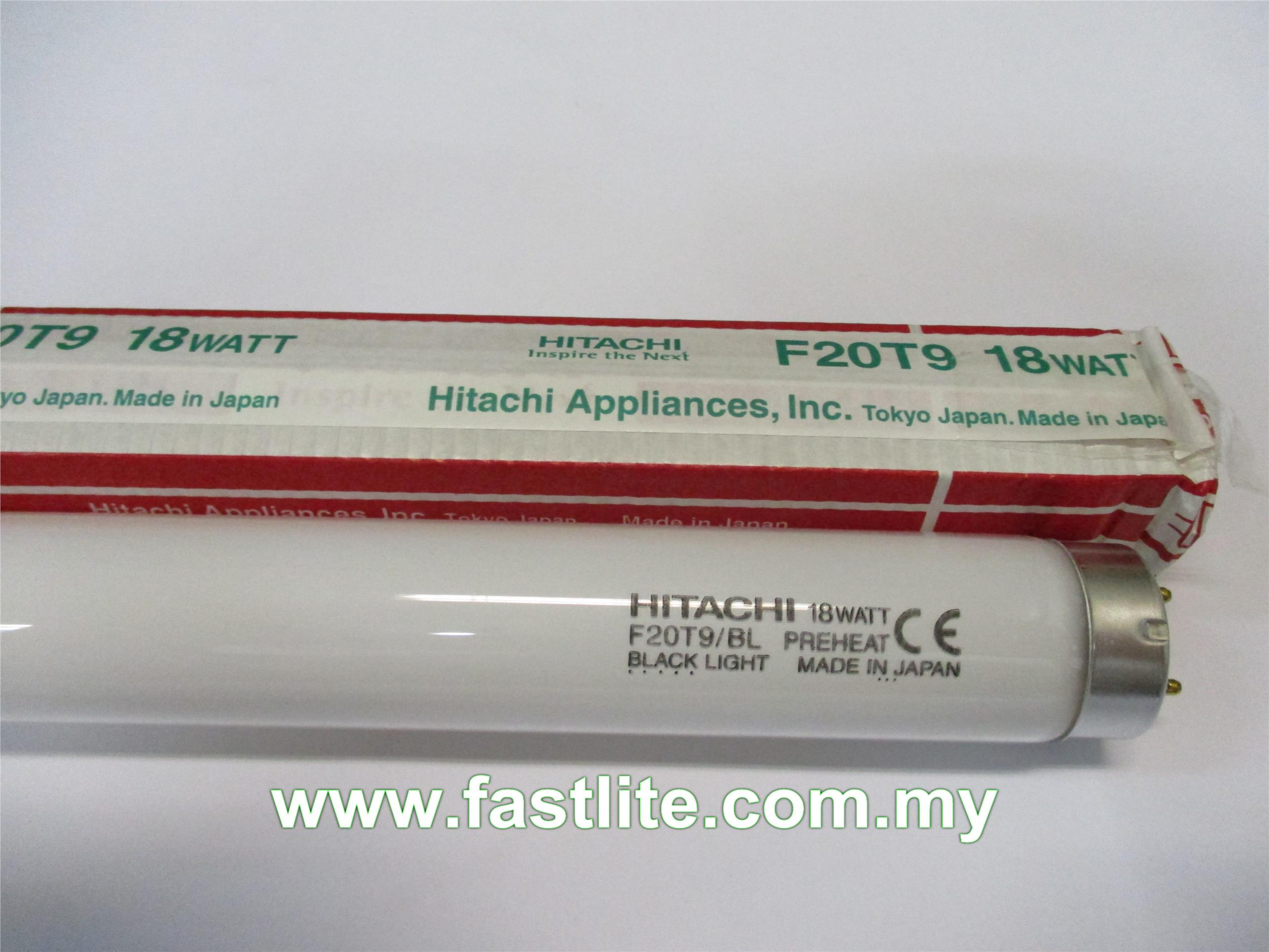 Hitachi F20T9BL 18w 589mm UV Curing (Insect Killer) tubes