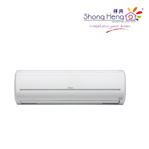 Hitachi RAS-F10CF Non-Inverter Air Conditioning 1.0HP with Compressor