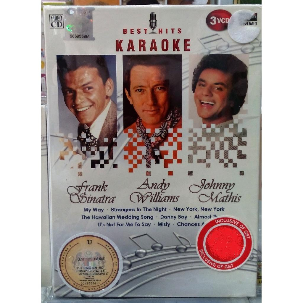 Johnny Mathis Wedding.Best Hits Karaoke Frank Sinatra Andy Williams Johnny Mathis 3vcd