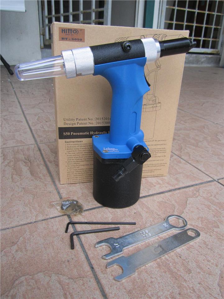 Hitto Professional Industrial Air Rivet Gun (Super Light Weight)