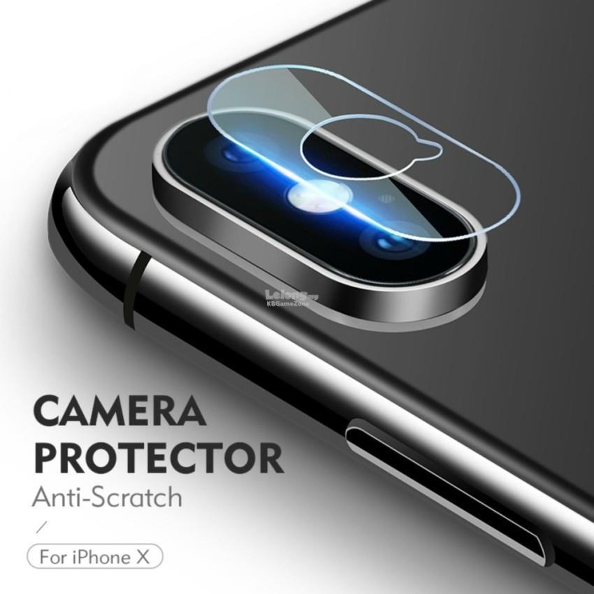 buy popular 16bf0 d88fc HKQTQ Protection iPhone X Camera Lens Glass Protector Anti Scratch