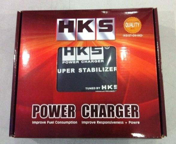 HKS Power Charger Pivot Voltage Stabilizer with Meter Fuel Saving