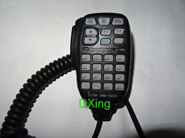 HM-133V DTMF PTT Mic For ICOM