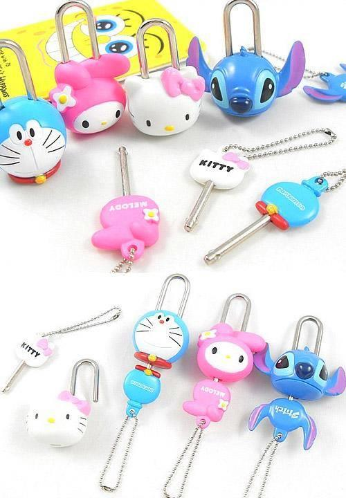 HM0039 CUTIE CARTOON PAD LOCK