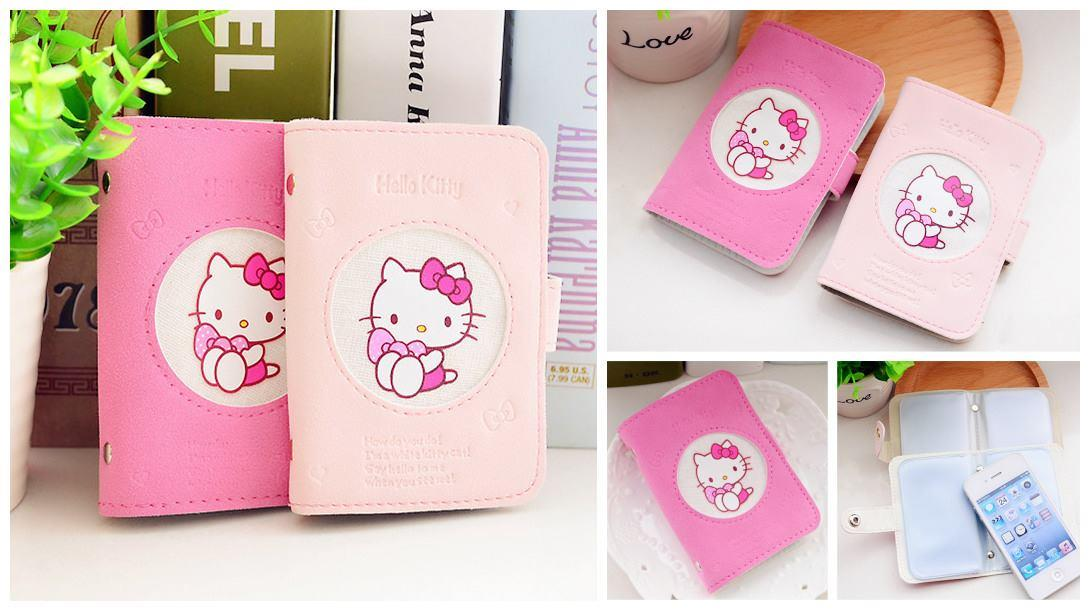 HM0679 PINKY HELLO KITTY CARD HOLDER CASE