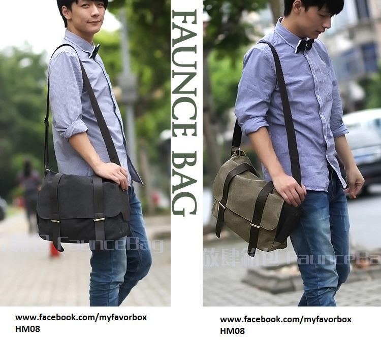 HM08 Men s Bag   Shoulder Bag   Canv (end 5 1 2019 12 00 AM)