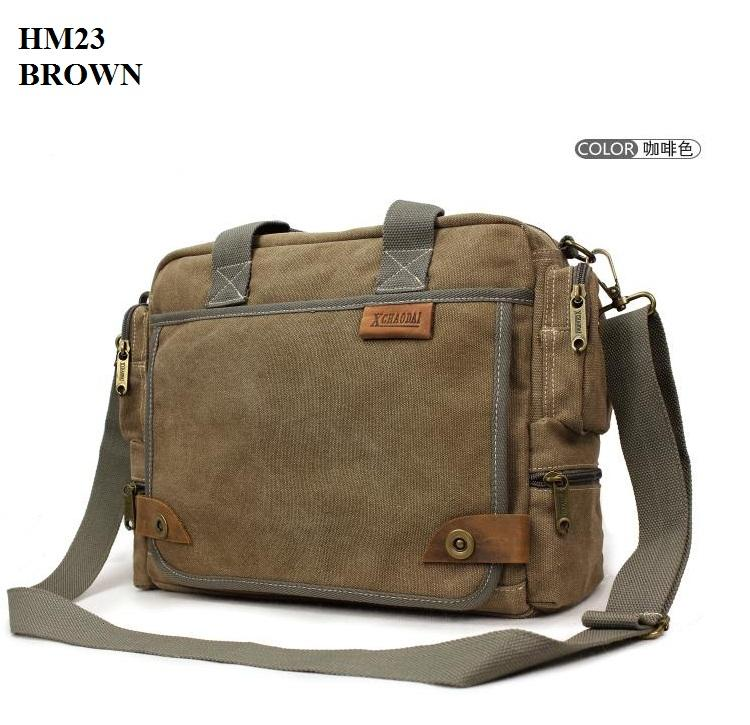 Hm23 Men Casual Shoulder Bag Travel Messenger