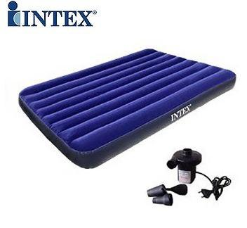 ho012 intex inflatable bed air bed for single twin