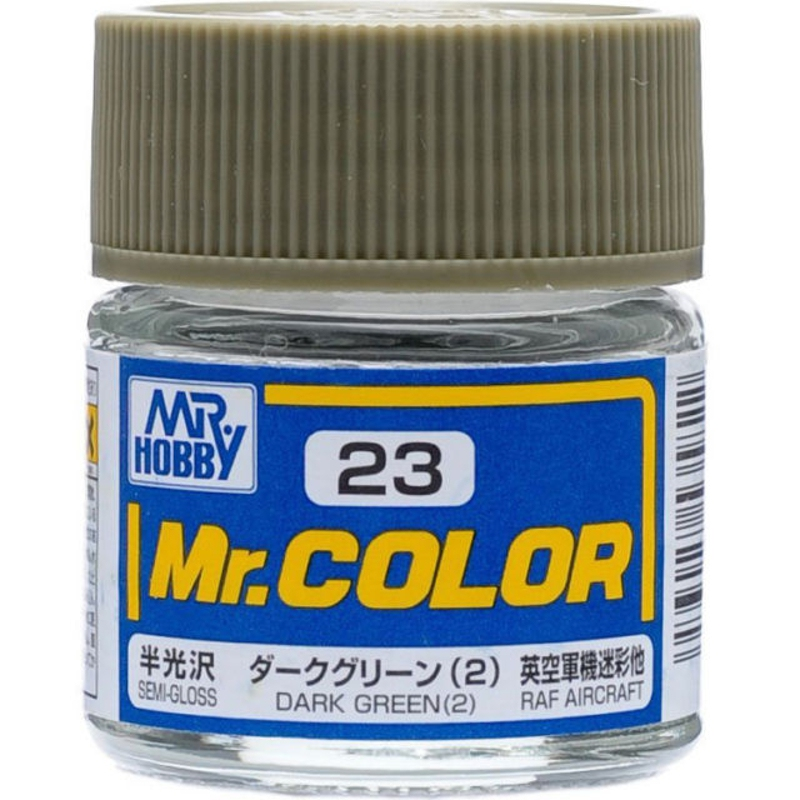 Mr. Hobby Mr.Color C21 - C41 10ml Color Paint Air Brush Gundam Miniature GWBC