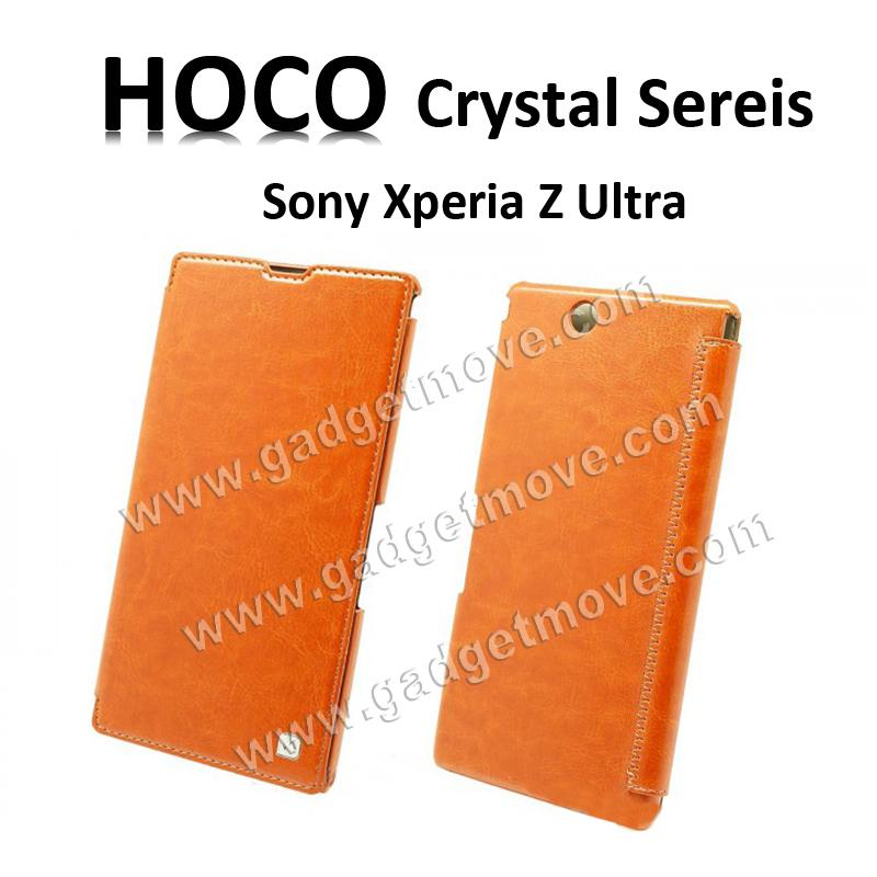 huge discount 7e81c a00d9 HOCO Crystal SR SONY Xperia Z Ultra XL39h Flip Cover Leather Case