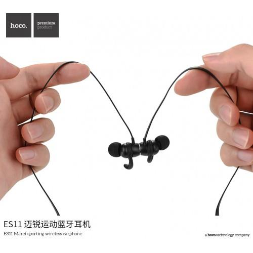 HOCO ES11 Sport IPX5 Water-proof Bluetooth HiFi Stereo Earphone + mic