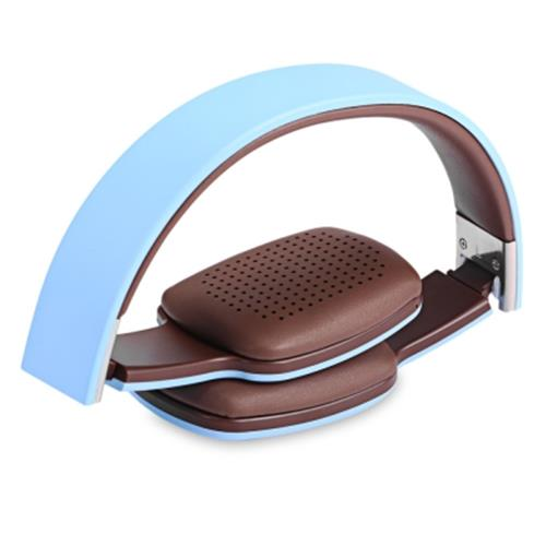 42db311d093 HOCO W4 SMART TOUCH BLUETOOTH V4.0 HEADSET HEADPHONES (BLUE)