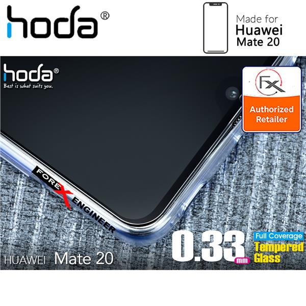Hoda Tempered Glass for Huawei Mate 20 Full Coverage Screen Protector