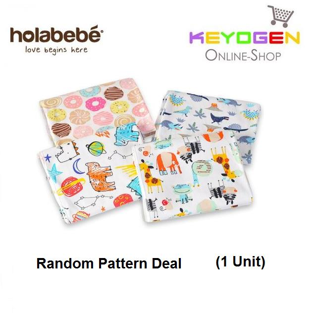 Holabebe Baby Cotton Muslin Blanket A665 (Random Pattern Deal)