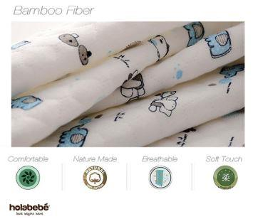 Holabebe Baby Diaper Mat Waterproof A633 (Random Pattern Deal)