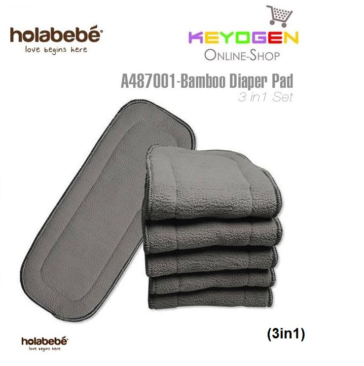 Holabebe Bamboo Diaper Pad A478001 (3in1)