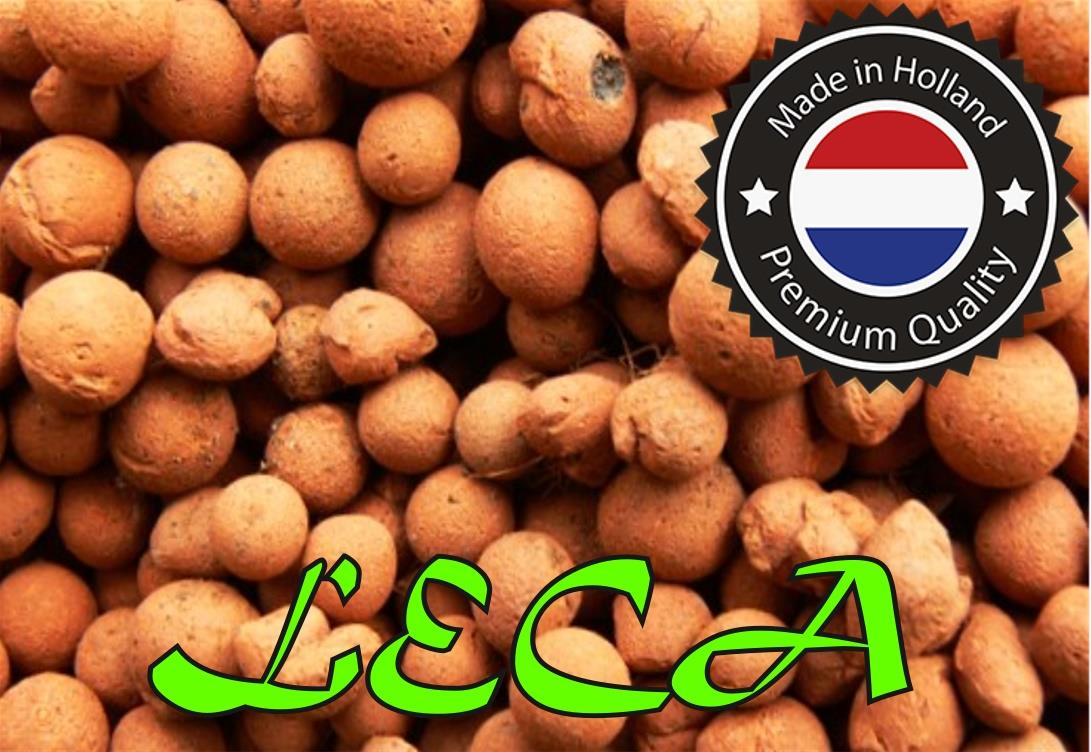 Holland Clay Pebbles (LECA) for Hydroponic & Aquaponic - 500g Pack