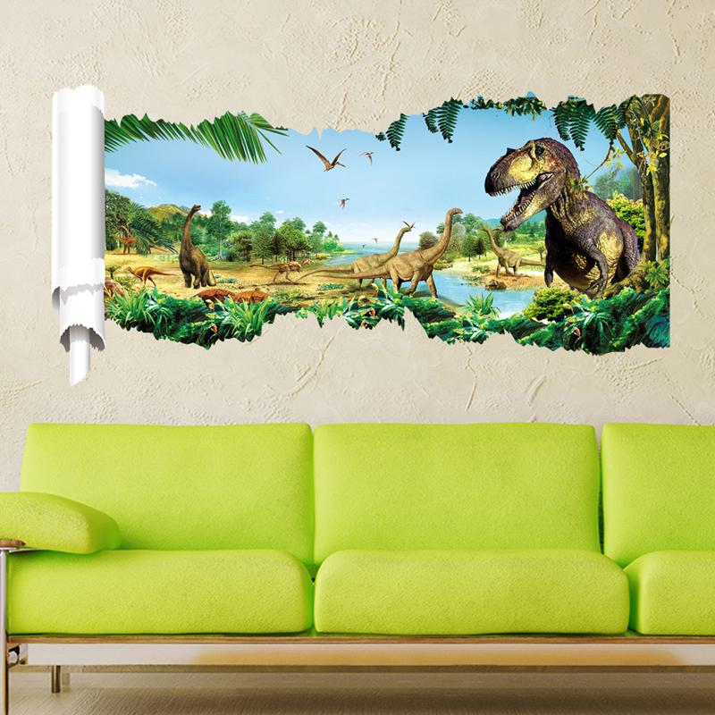 home decor 3d wall sticker dinosaur (end 3/28/2019 6:39 am)