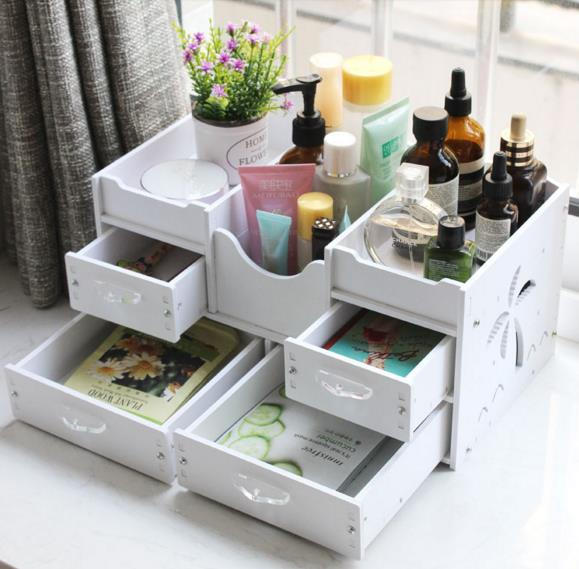 Home decor storage box makeup bat end 1182020 1209 am home decor storage box makeup bathroom organizer tabletop drawers watchthetrailerfo