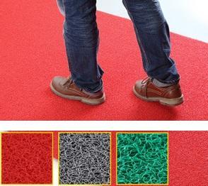 Home Must Have Dustproof Door Mat Rug Corridor Carpet RED