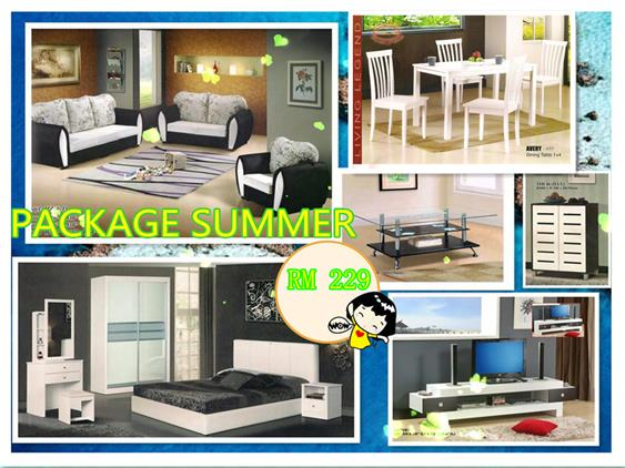 Home furniture package 7 in 1 payment per month