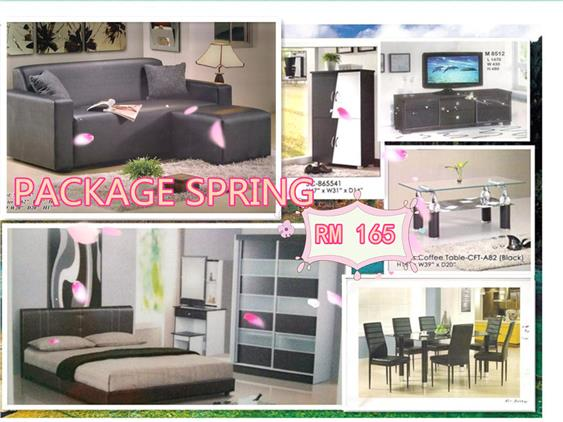 Home furniture package 7 in 1 payment per -month