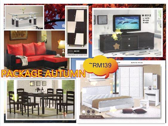 Home Furniture Package AUTUMN Installment Plan Payment Per Month. U2039 U203a