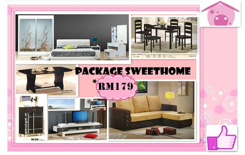 HOME PACKAGE FURNITURE INSTALLMENT (end 2/21/2018 12:15 PM)