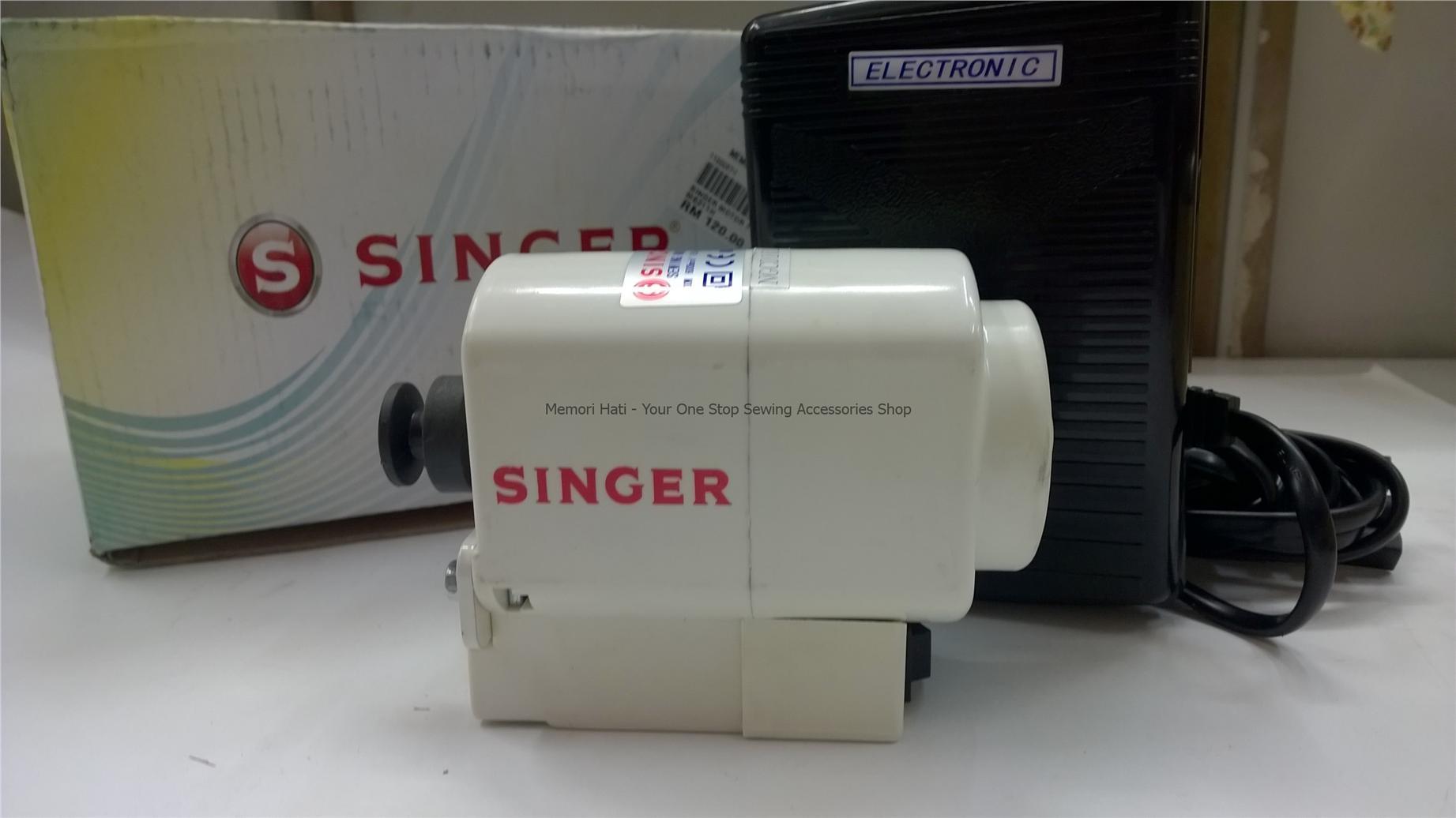 singer sewing machine motors