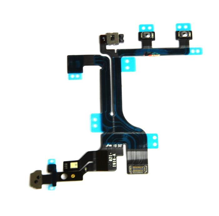 Home On/Off Volume Speaker Button Flex Cable Ribbon iPhone 6 6S 7 Plus