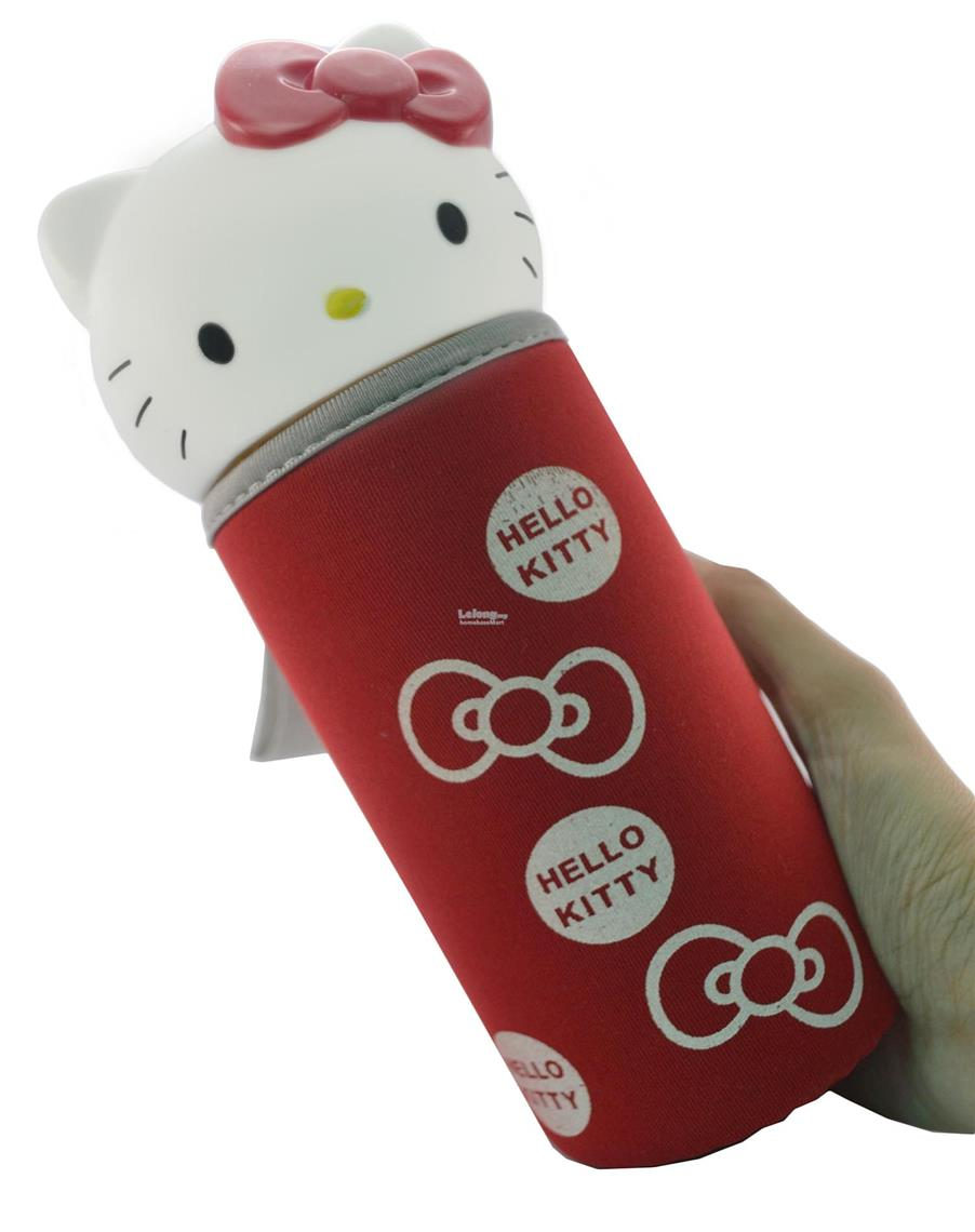 Homebase Kitty Head Korea Eco Glass 300mL