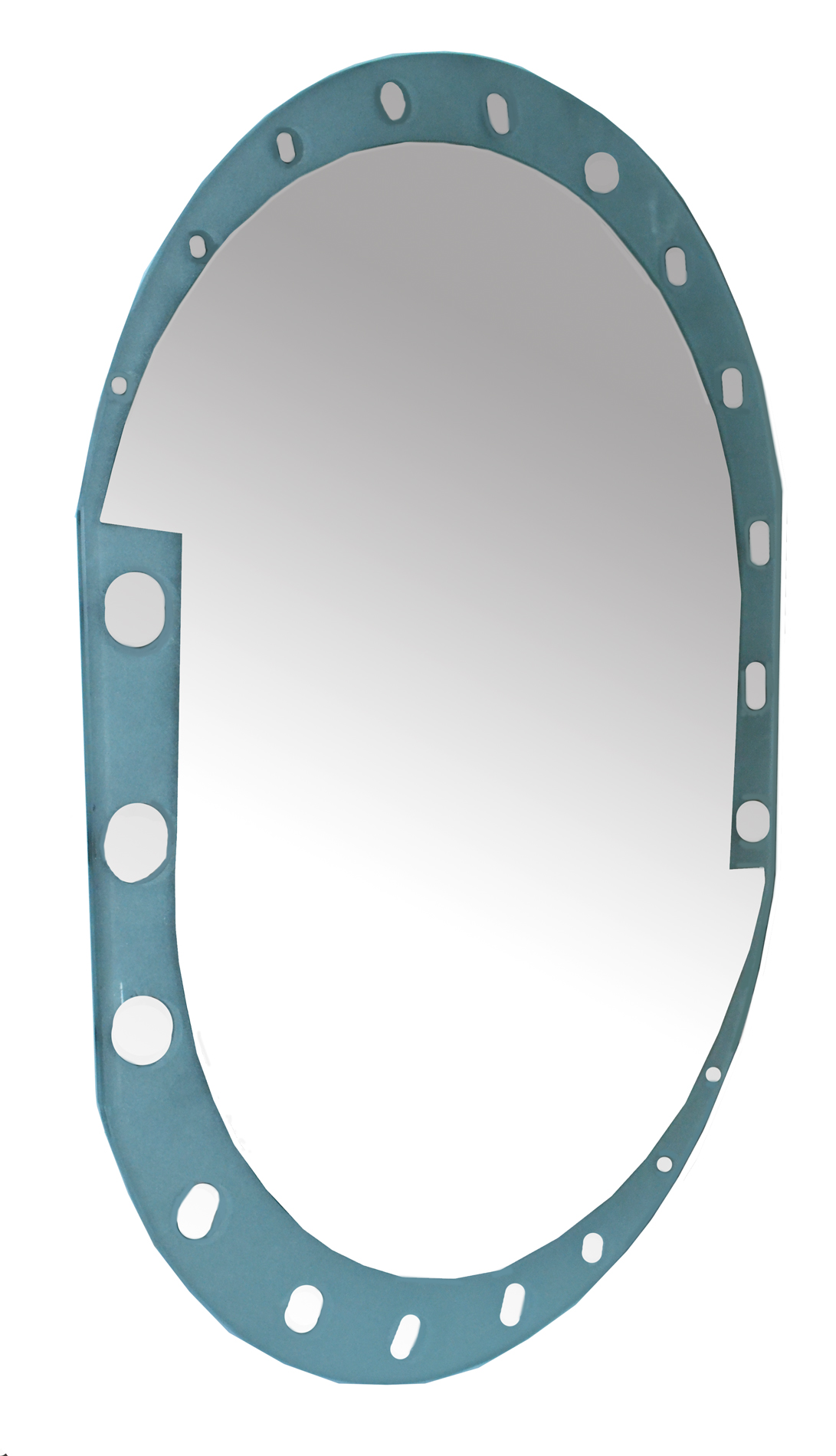 HOMEbase Mirror Oval ( 60cm X 45cm ) (end 5/8/2020 3:38 PM)