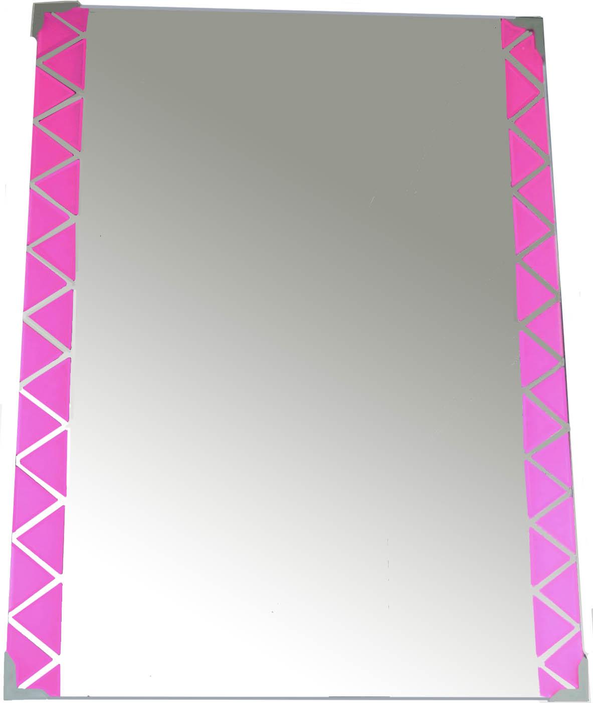 HOMEbase Mirror pink border 60cm x 45 (end 5/8/2020 3:38 PM)