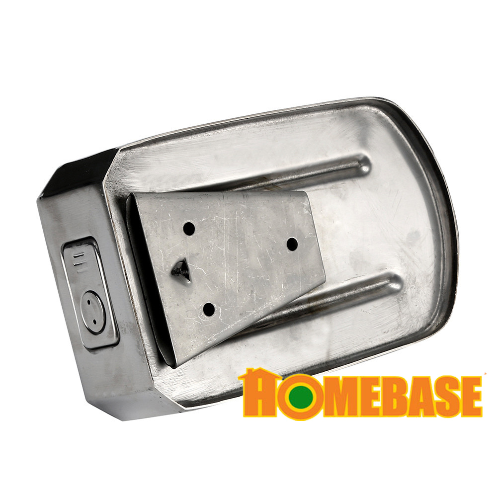 Homebase Stainless Steel Wall Mount End 2 23 2021 12 00 Am
