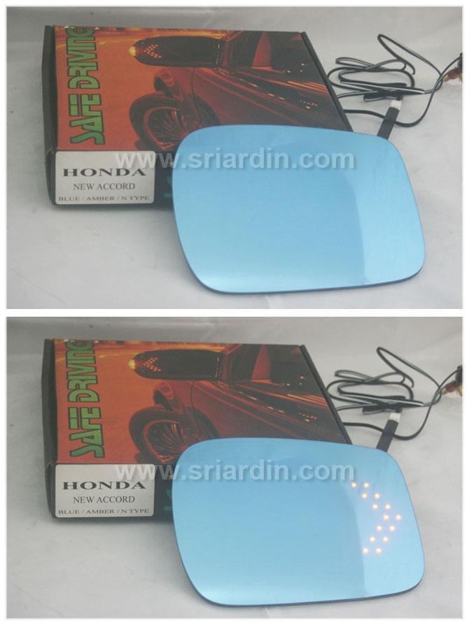 Honda Accord 08-13 Blue Side Mirror w LED Signal
