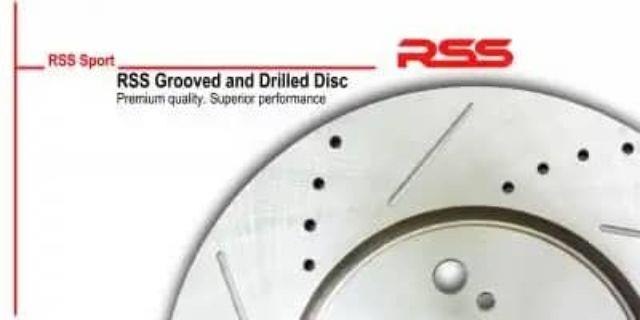 Honda Accord 08-13 RSS Sport Brake Disc Rotor