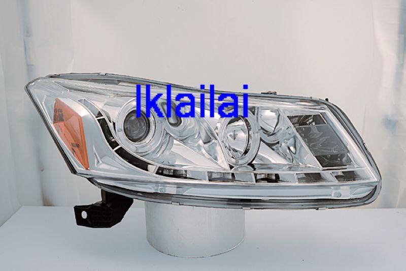 Honda Accord '08 Projector Head Lamp LED Ring+DRL R8