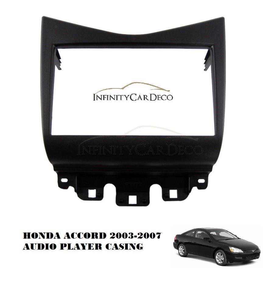 Honda Accord 2003 2007 Car Audio Pl End 3 21 2019 1116 Am Head Unit Player Casing Double Din
