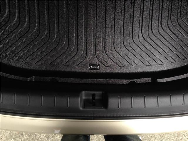 HONDA ACCORD 2013 BOOTH TRAY