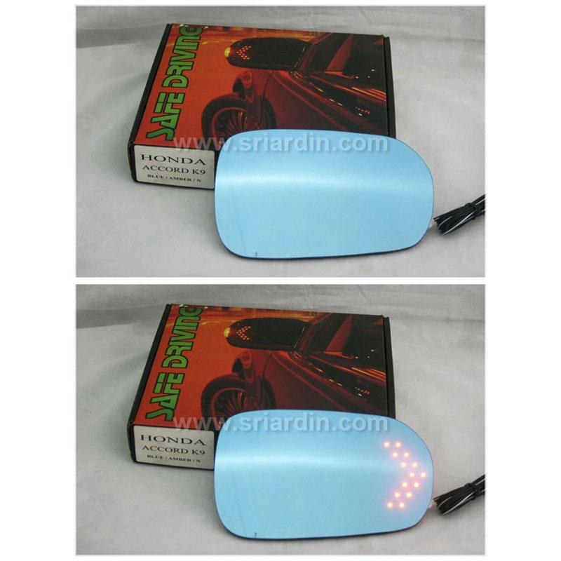 Honda Accord 98-02 Blue Side Mirror w LED Signal