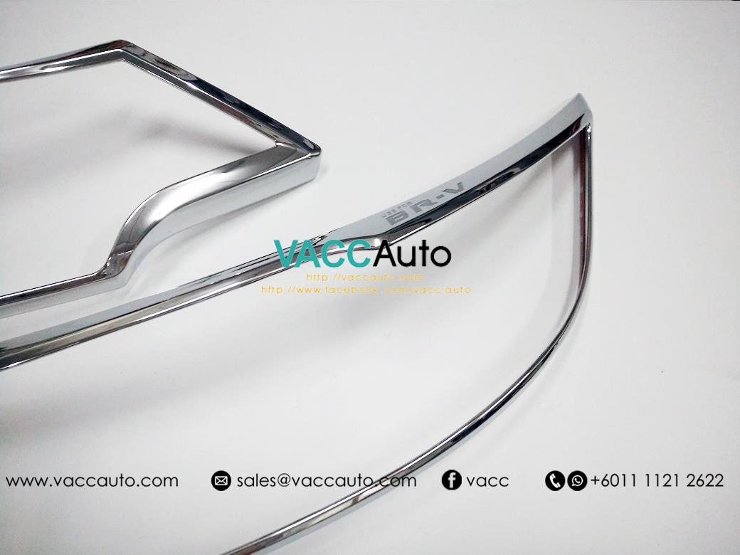 New Honda BR-V / BRV Head Lamp Chrome Cover