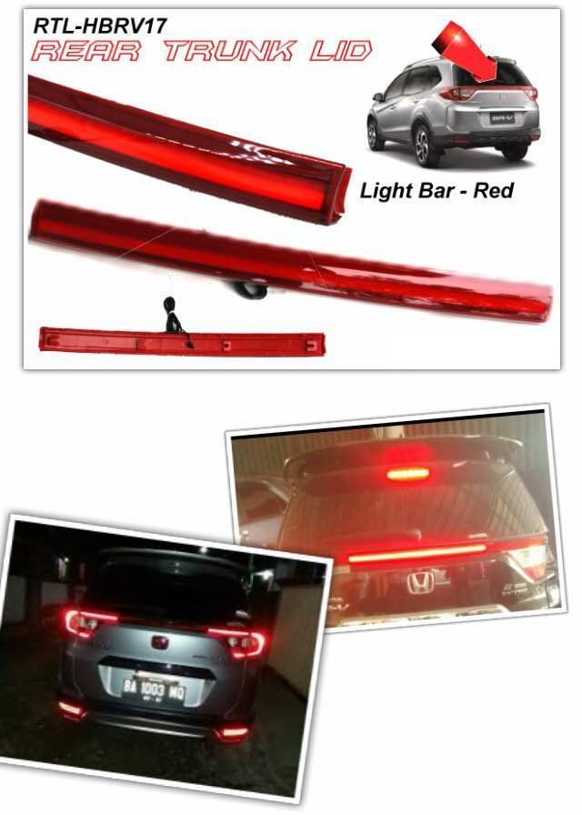 Honda brv rear trunk lid with led li end 7142019 420 pm honda brv rear trunk lid with led light bar aloadofball Images