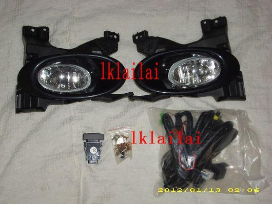 Honda City '09 Fog Lamp Set With Wiring+Switch