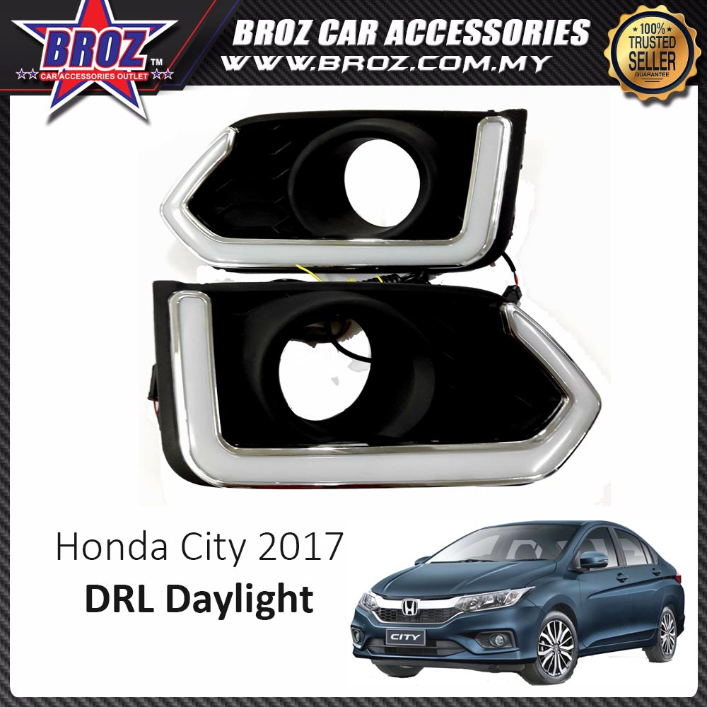 Honda City 2017 Plug U0026 Play Daytime Running Light Daylight New Perfor