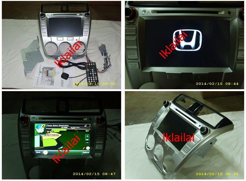 Honda City 7inch OEM DVD Player With GPS Touch Screen Bluetooth
