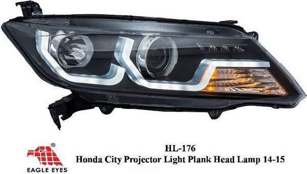HONDA CITY GM6 14 15 EAGLE EYES Projector Light Head Lamp [HL 176. U2039 U203a